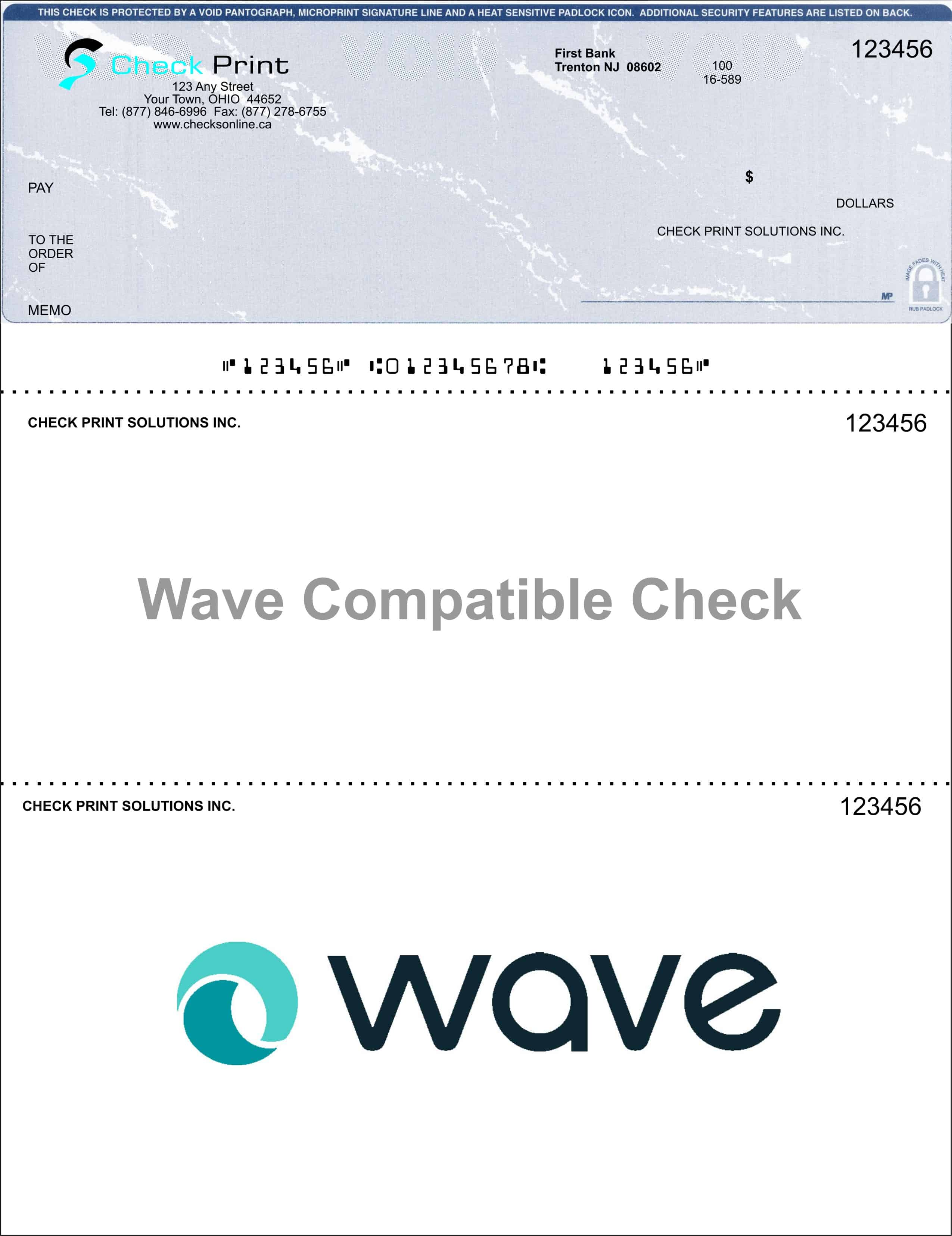 Wave Marble_Blue